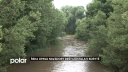 Velká voda postrašila obyvatele Vávrovic a Držkovic, řeka Opava ale nakonec zůstala v korytě