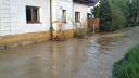 Blesková povodeň zaplavila část Studénky